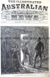 78-028  Ned Kelly - Murder of Sherritt  c.1880