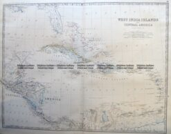 8-002  West Indies by Johnston c.1864