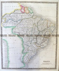 8-005  Brazil by Teesdale  c.1837
