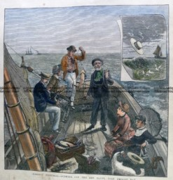 9-134 Fishing on Port Phillip c.1883