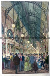 9-144  Royal Arcade in Melbourne  c.1874