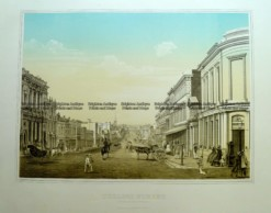 9-148  Melbourne - Collins Street by Troedel c.1864