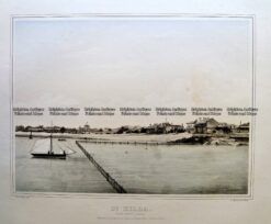 9-149  Melbourne - St Kilda by Troedel c.1864