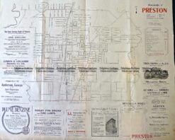 9-160  Melbourne Street Map  - Preston  c.1920