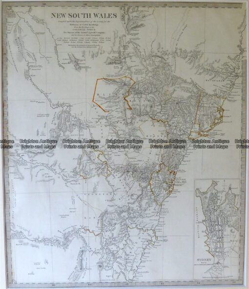 9-800  New South Wales by S.D.U.K.  c.1844