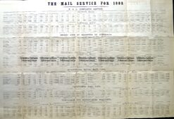 9-815  Shipping - Mail Service to Australia in 1883