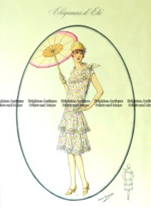 Clone of 23-803  Art Deco fashion c.1923